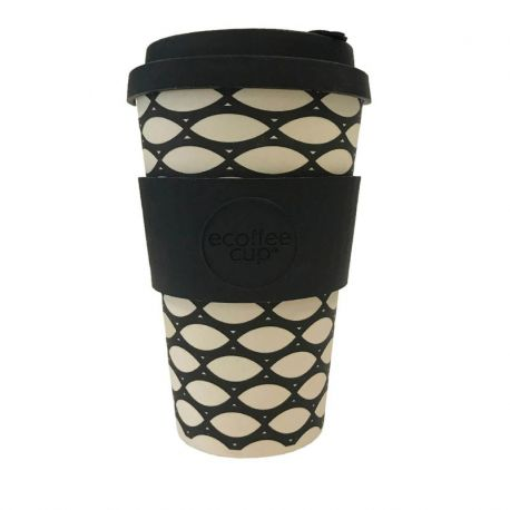 BAMBOO CUP WITH LID BASKETCASE 400ml