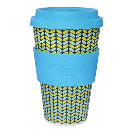 BAMBOO CUP WITH LID NORWEAVEN