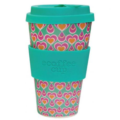 BAMBOO CUP WITH LID ITCHYKOO 400ml