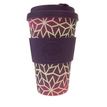 BAMBOO CUP WITH LID STARGRAPE 400ml