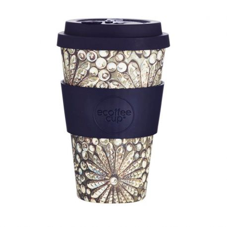 BAMBOO CUP WITH LID KAILEHO 400ml