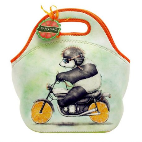 Fruity Scooty Lunch Bag  - Panda