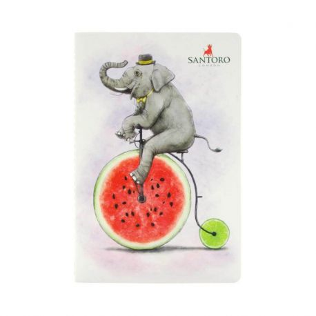 Fruity Scooty Notebook - Elephant