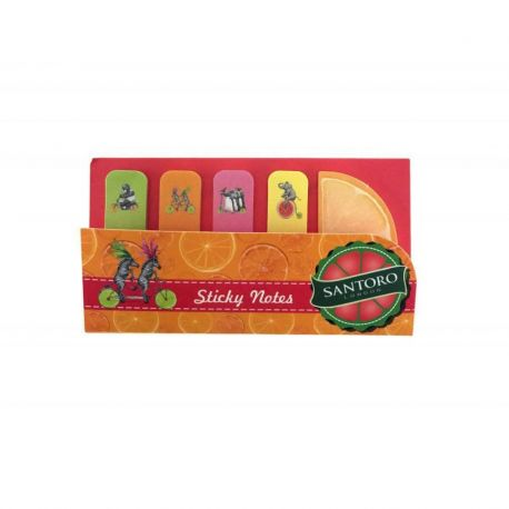 Fruity Scooty Sticky Note Folder