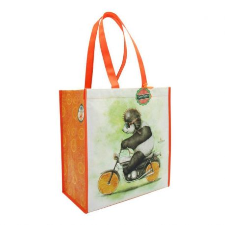 Fruity Scooty Shopper Bag - Panda