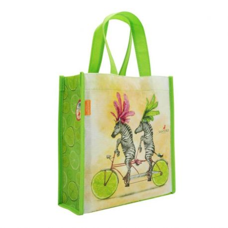 Fruity Scooty Mini Shopper Bag - Zebras