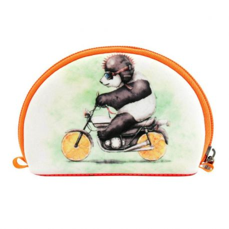 Fruity Scooty Neoprene Accessory Pouch - Panda