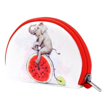 Fruity Scooty Neoprene Accessory Pouch - Elephant