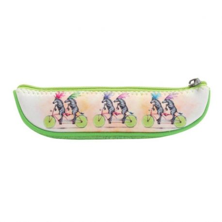 Fruity Scooty Fruit Slice Pencil Case - Zebras
